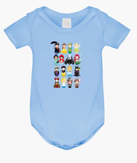 Ropa infantil Body para bebé Kokeshis de cuento