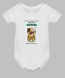 Body para bebés perezosos