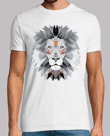 boho lion poly