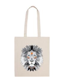 boho poly lion