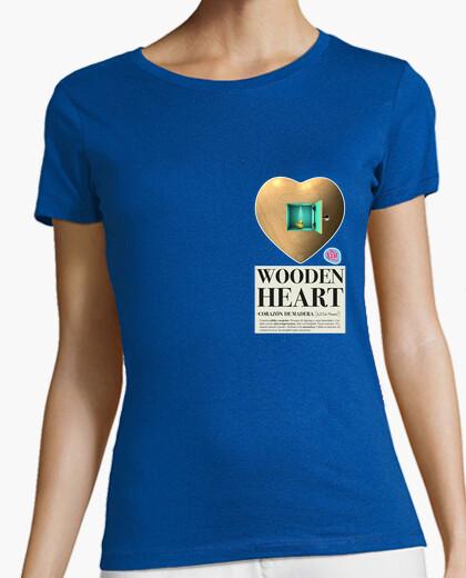 Tee-shirt bois femme coeur