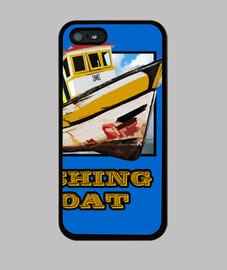 boîte de couverture de bateau pêcheur