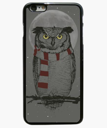 Coque Iphone 6 Plus / 6S Plus boîte de hibou d'hiver