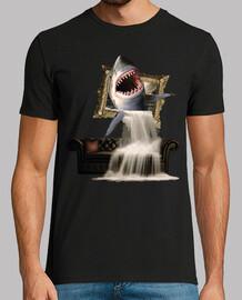 boîte de saut de requin et cascade sur