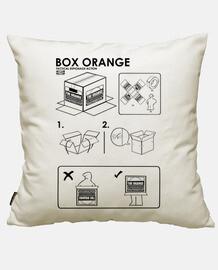 boîte orange ikea