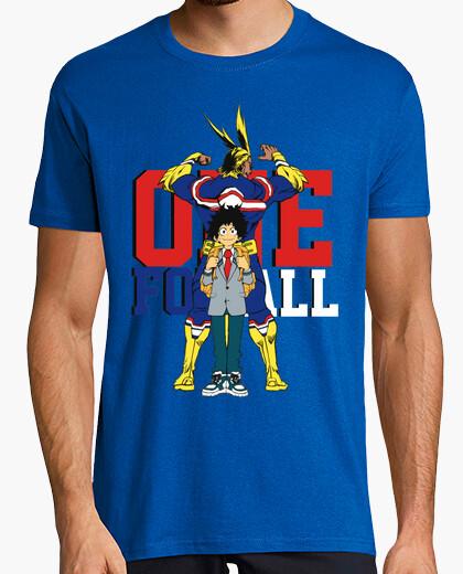 Camiseta Boku no hero Academia - One for all
