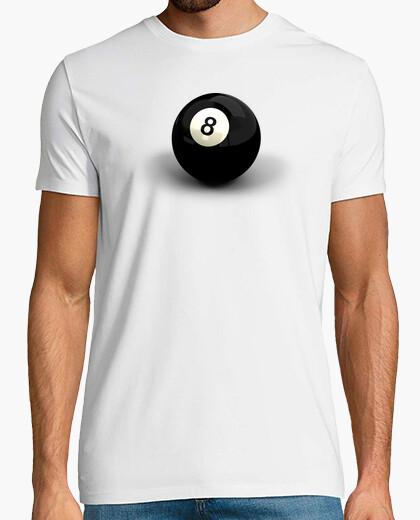 Camiseta Bola 8 de Billar