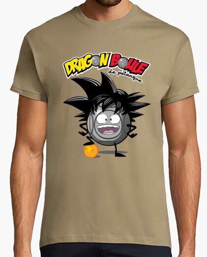Camiseta bolas de bochas de dragón