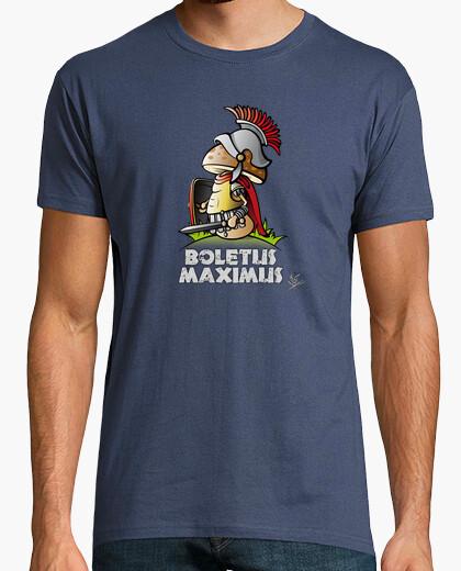 Tee-shirt boletus maximus (fond noir)