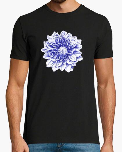 Camiseta bolígrafo azul dalia
