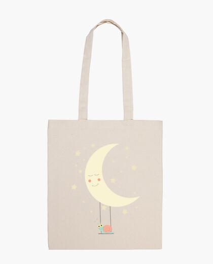 Bolsa - La luna y el caracol