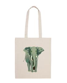 Bolsa  de tela Elefante