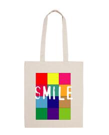 Bolsa Algodon Smile