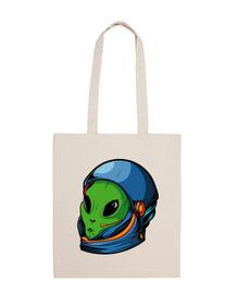 Bolsa alien astronauta