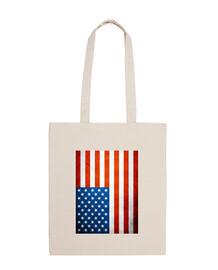 Bolsa bandera EE.UU
