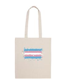 Bolsa bandera Trans