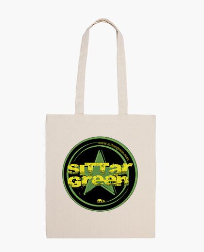 Bolsa Bolso algodon 8l.logo Sittar 2017 green