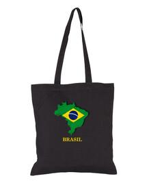 BOLSA BRASIL MAPA 3D BANDERA NOMBRE