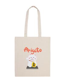 Bolsa de algodón estilo Japonés kawaii