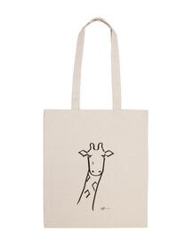 bolsa de jirafa