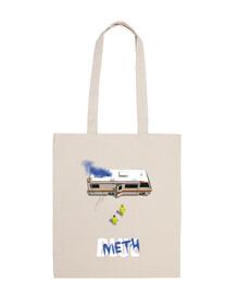 bolsa de metanfetamina azul