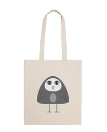 bolsa de pingüino geométrica linda
