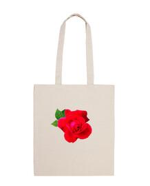 bolsa de playa rosa roja 1
