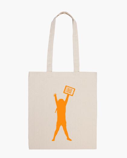 Bolsa de playa solidari@ - La niña de la tablet - Padres 2.0