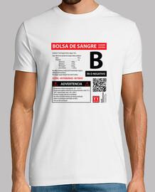 Bolsa de sangre B-