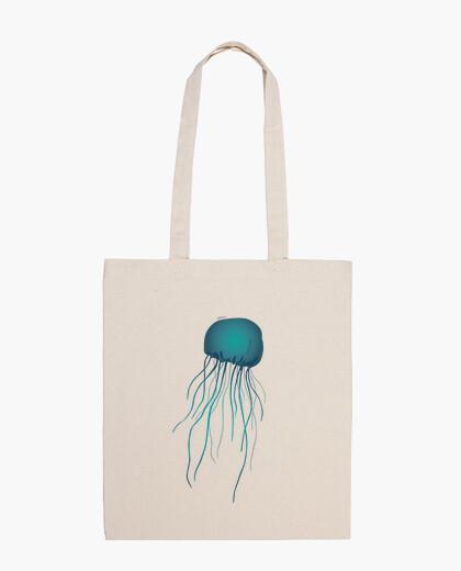 Bolsa de tela, color natural. Medusa básica.