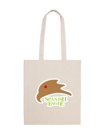 Bolsa de tela, color natural Spanish Eagle Aguila Española 2