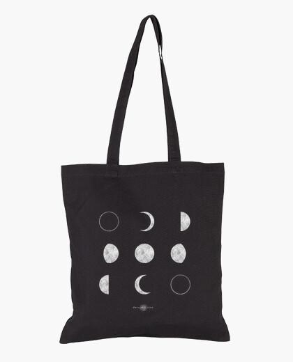 Bolsa de tela, color negro