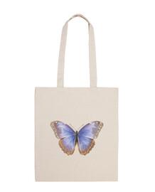 Bolsa de tela con Mariposa