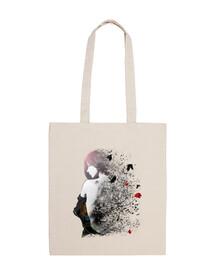 bolsa de tela de algodón 100 modestia