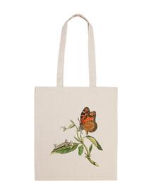 Bolsa de tela Mariposa vintage