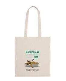 Bolsa de tela para los perezosos por naturaleza