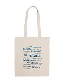 Bolsa de tela 'Sierras de Alicante #1