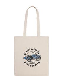 Bolsa de tela sostenible Surf