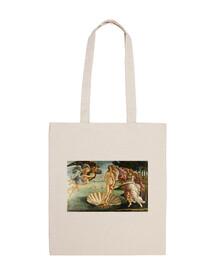 Bolsa de tela sostenible Venus de Botticelli