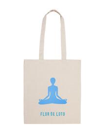Bolsa flor de loto yoga