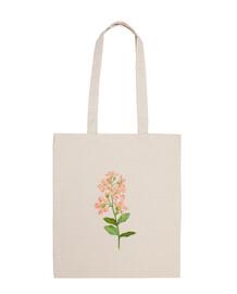 Bolsa Flores rosas