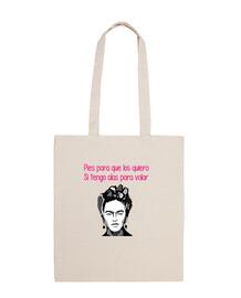 Bolsa Frida Kalho, Feminista