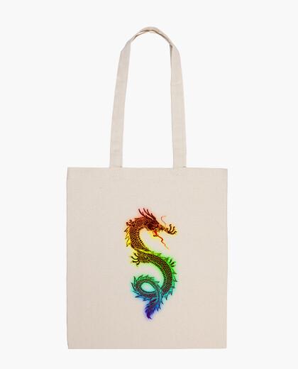 Bolsa Funda Iphone Rainbow Dragon