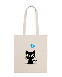 Bolsa Gato enfadado