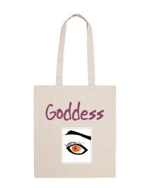 Bolsa Goddess eye beige