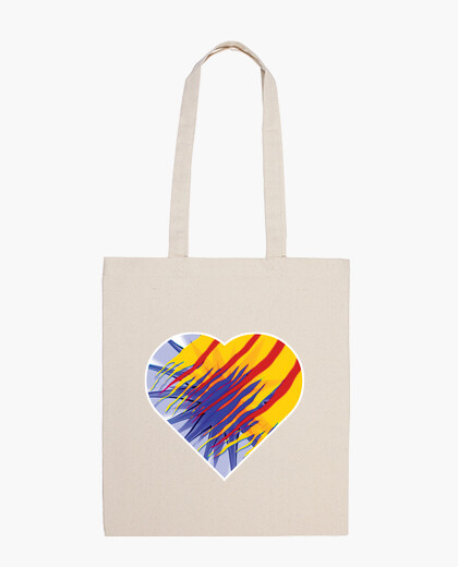 Bolsa Heart for Catalunya
