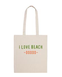 bolsa I LOVE BEACH