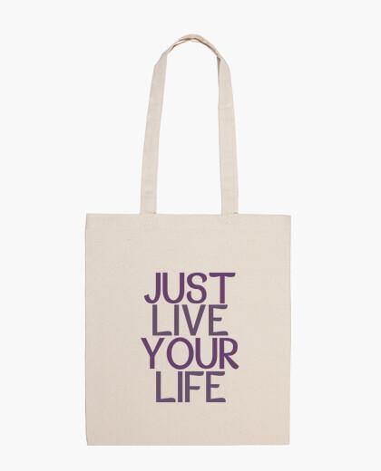Bolsa Just Live Your Life