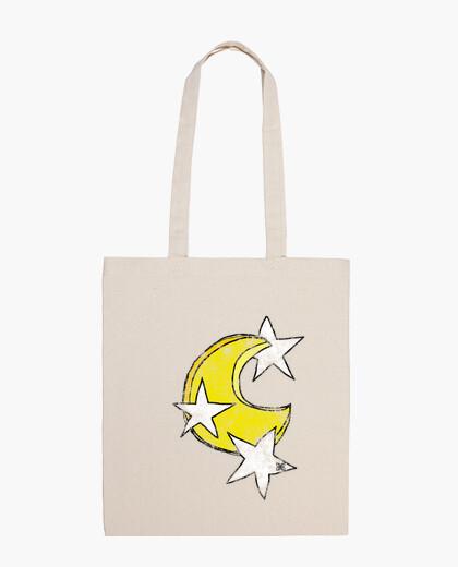 Bolsa Luna y Estrellas