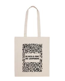 Bolsa Me gusta el print de leopardo